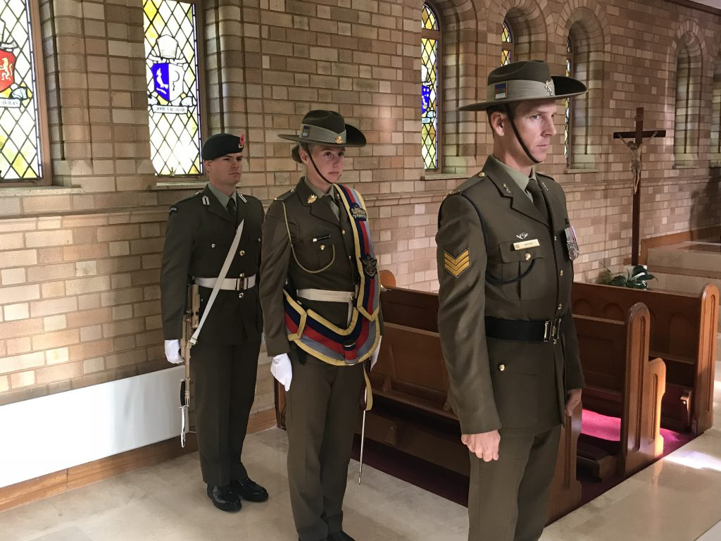 Anzac Day Mass, St Christopher's Cathedral, Canberra, 25 April 2018